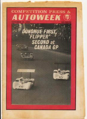 October 15 1966 Competition Press & Autoweek Car Racing News
